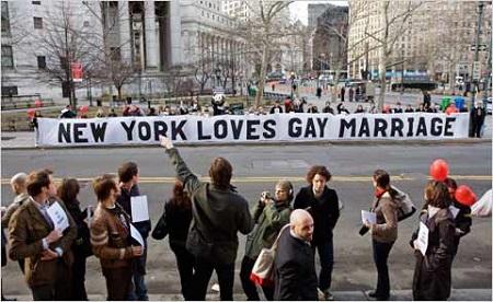 matrimonio gay new york